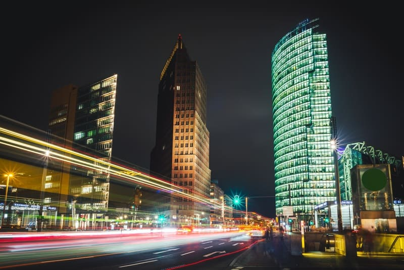The business center in Berlin, where the FinTech Raisin is based - iStock / Getty Images Plus
